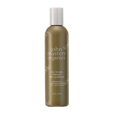 John Masters Organics Zinc & Sage Shampoo With Conditioner Cynk i szałwia - szampon z odżywką 236 ml
