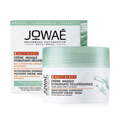 Jowae Moisturizing Overnight Recovery Cream-Mask Nawilżająco-regenerujący krem-maska do twarzy na noc 40 ml