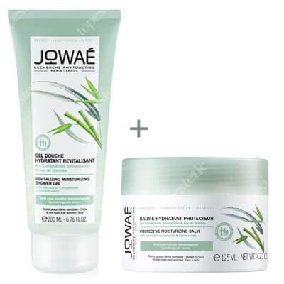Jowae Revitalizing Shower Gel & Protective Balm ZESTAW Rewitalizujący żel pod prysznic 200 ml + Balsam nawilżający do ciała 125 ml