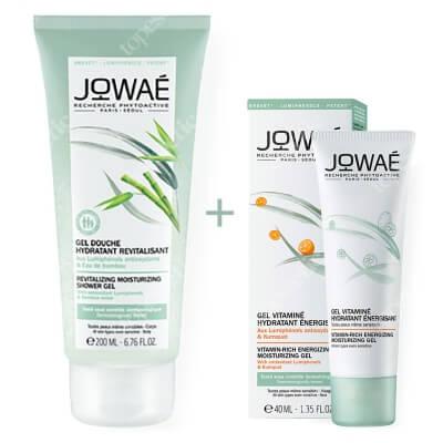 Jowae Vitamin-rich Gel + Revitalizing Shower Gel ZESTAW Witaminowy żel 40 ml + Żel pod prysznic z wodą bambusową 200 ml