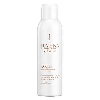 Juvena Superior Anti-Age Dry Oil Spray SPF 25 Przeciwstarzeniowy suchy olejek do opalania ciała SPF25 200 ml