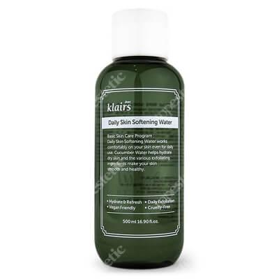 Klairs Daily Skin Softening Water Peelingujący tonik do codziennej pielęgnacji 500 ml