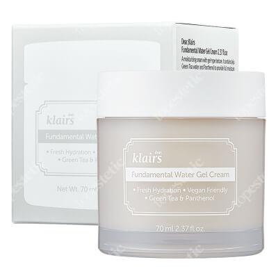 Klairs Fundamental Water Gel Cream Żelowy krem nawilżający 70 ml