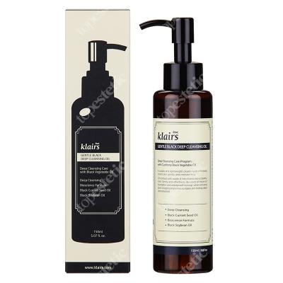 Klairs Gentle Black Deep Cleansing Oil Mieszanka naturalnych olejków 150 ml