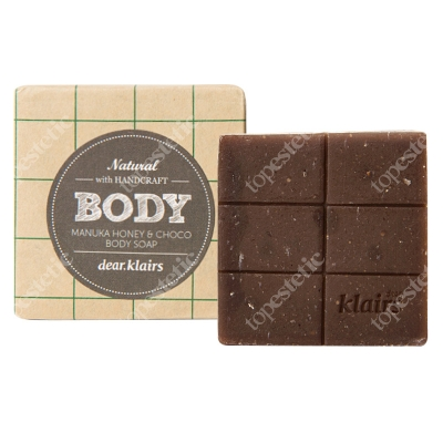 Klairs Manuka Honey & Choco Body Soap Wielofunkcyjne mydło do ciała ręcznie wytwarzane 120 g