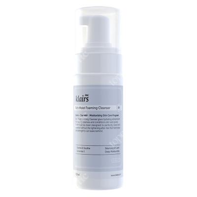 Klairs Rich Moist Foaming Cleanser Pianka do mycia twarzy dla wrażliwej skóry 100 ml