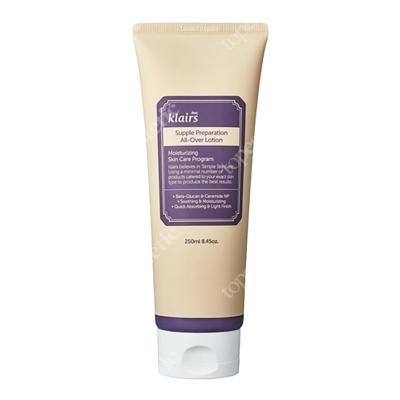 Klairs Supple Preparation All-Over Lotion Nawilżająca emulsja do twarzy i ciała na bazie Masła Shea 250 ml