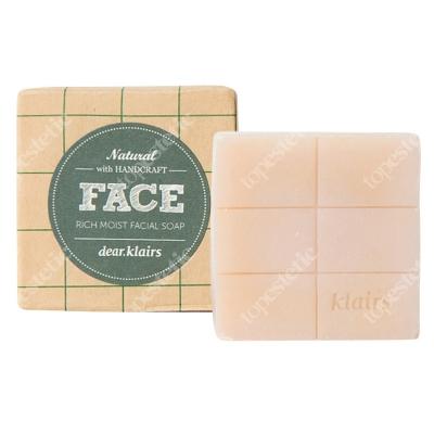 Klairs The Rich Moist Facial Soap Silnie nawilżające mydło do twarzy ręcznie wytwarzane 120 g
