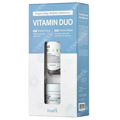 Klairs Vitamin Duo Trial Kit ZESTAW Serum 35 ml + Maska na bazie witaminy E 15 ml