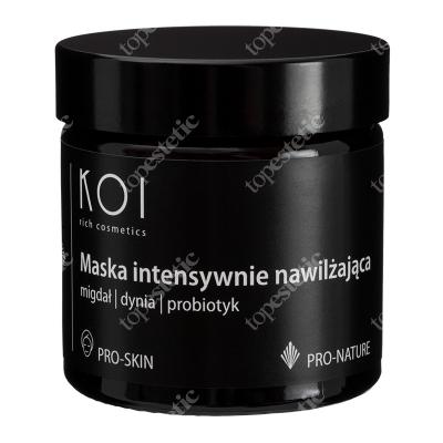 Koi Maska Intensywnie Nawilżająca Migdał, dynia, probiotyk 60 ml
