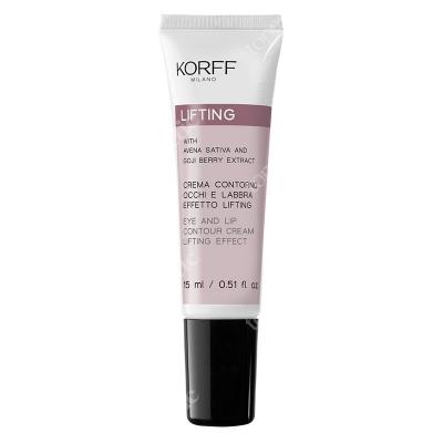 Korff Eye and Lip Contour Cream Lifting Effect Krem modelujący do skóry wokół oczu i ust 15 ml