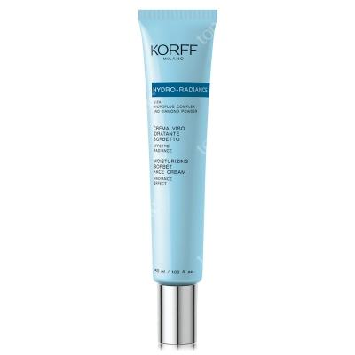 Korff Moisturizing Sorbet Face Cream Rozświetlająco-nawilżający sorbet 50 ml