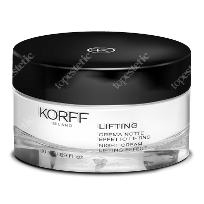 Korff Night Cream Lifting Effect Krem modelujący na noc 50 ml