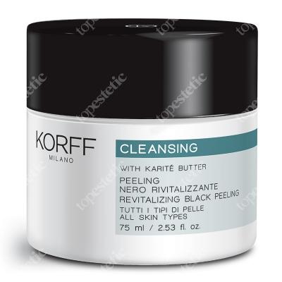 Korff Revitalizing Black Peeling Oczyszczająco-rewitalizujący czarny peeling 75 ml