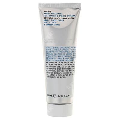 Korres Absinthe Mens Shave Cream Krem do golenia z wyciągiem z absyntu 125 ml