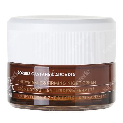 Korres Castanea Firming Night Cream Krem na noc 40 ml