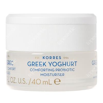 Korres Greek Yoghurt Probiotic Moisturiser Kojący krem nawilżający z probiotykami dla skóry normalnej i mieszanej 40 ml
