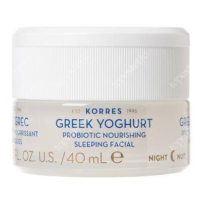 Korres Greek Yoghurt Probiotic Nourishing Sleeping Odżywcza krem-maska z probiotykami na noc 40 ml