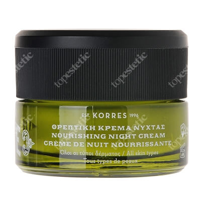 Korres Olive Nourishing Night Cream Odżywczy krem na noc 40 ml