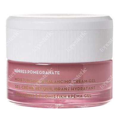 Korres Pomegranate Cream Gel Żel krem nawilżający do skóry tłustej i mieszanej 40 ml