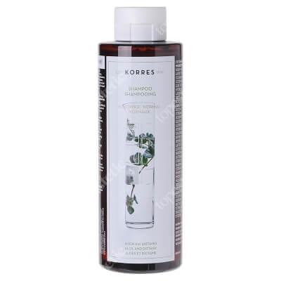 Korres Shampoo Aloe and Dittany Szampon z aloesem i wyciągiem z lebiodki (włosy normalne) 250 ml