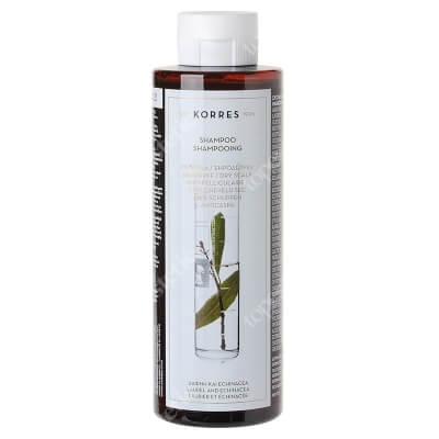 Korres Shampoo Laurel and Echinacea Szampon przeciwłupieżowy z wyciągiem z liścia laurowego i echinacei 250 ml