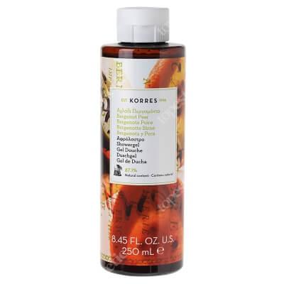 Korres Showergel Bergamot Pear Żel pod prysznic o zapachu gruszki i bergamotki 250 ml