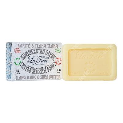 La Fare Smooth Soap Shea Butter Ylang Ylang Delikatne mydło - masło Shea i Ylang Ylang 75 g