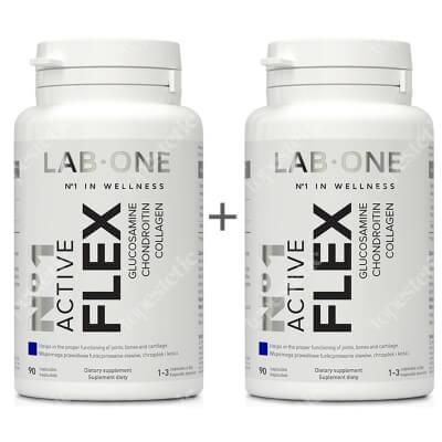 Lab One N°1 Active Flex ZESTAW Dwupak Suplement diety 2x 90 kaps.