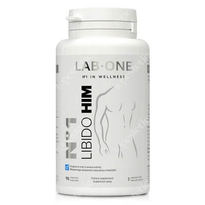 Lab One N°1 Libido Him Suplement diety 90 kaps.