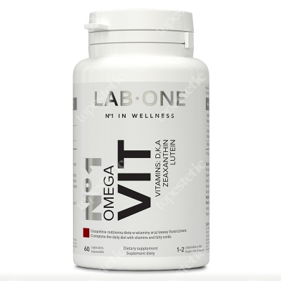 Lab One N°1 Omega VIT Witaminy i kwasy tłuszczowe Omega-3 60 kaps.