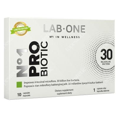 Lab One N°1 ProBiotic ProBiotic suplement diety 10 kaps.