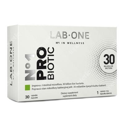 Lab One N°1 ProBiotic ProBiotic suplement diety 30 kaps.