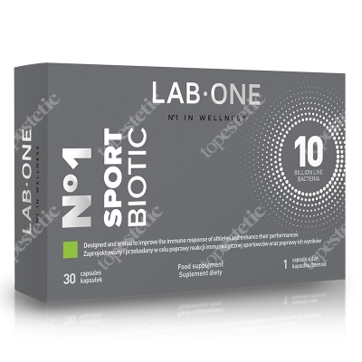 Lab One N°1 SportBiotic Suplement diety 30 kaps.