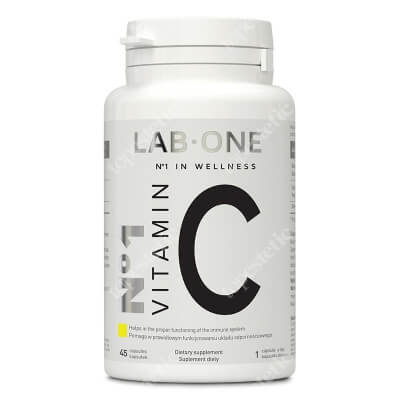 Lab One N°1 Vitamin C Suplement diety 45 kaps.