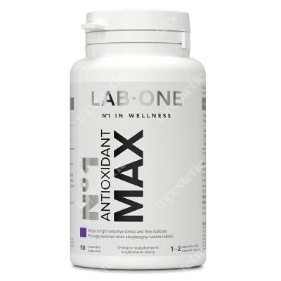 Lab One No1 Antioxidant Max Silne antyoksydanty 50 kaps.
