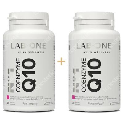 Lab One No1 Coenzyme Q10 ZESTAW Dwupak Koenzym Q10 zdrowa i piękna skóra 2x 60 kaps.