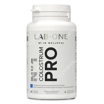 Lab One No1 Colostrum Pro Naturalne wsparcie dla układu immunologicznego 60 kaps.