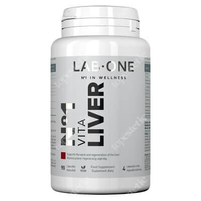 Lab One Vita Liver Suplement diety 90 kaps.