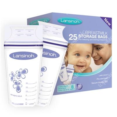 Lansinoh Breast Milk Storage Bags Woreczki do przechowywania pokarmu 25 szt.