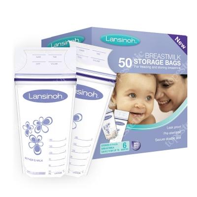 Lansinoh Breast Milk Storage Bags Woreczki do przechowywania pokarmu 50 szt.