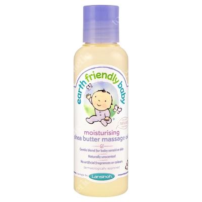 Lansinoh Moisturizing Shea Butter Massage Oil Nawilżający olejek do masażu z masłem Shea 125 ml