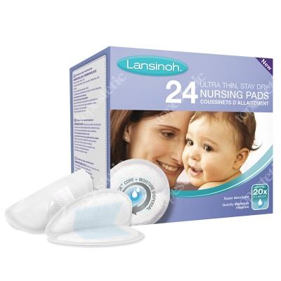 Lansinoh Nursing Pads - Ultra Thin Jednorazowe wkładki laktacyjne 24 szt.