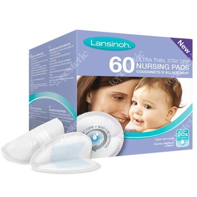 Lansinoh Nursing Pads - Ultra Thin Jednorazowe wkładki laktacyjne 60 szt.