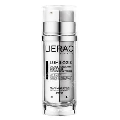 Lierac Lumilogie Concentre Dwuetapowy koncentrat na dzień i noc 2x15 ml