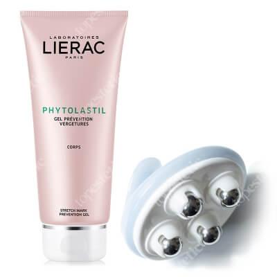 Lierac Phytolastil Gel + Body Massager ZESTAW Żel 200 ml + Masażer do ciała 1 szt