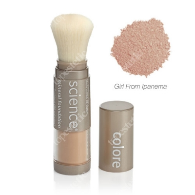 Colorescience Loose Mineral Foundation Brush Minerały w pędzlu - Girl From Ipanema kolor Tan Natural 6 g
