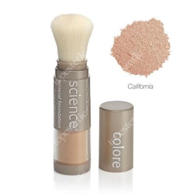 Colorescience Loose Mineral Foundation Brush Minerały w pędzlu - kolor dawniej California Girl średni ciepły 6 g