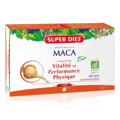 Super Diet Maca Bio Witalność i pożądanie 20x15 ml