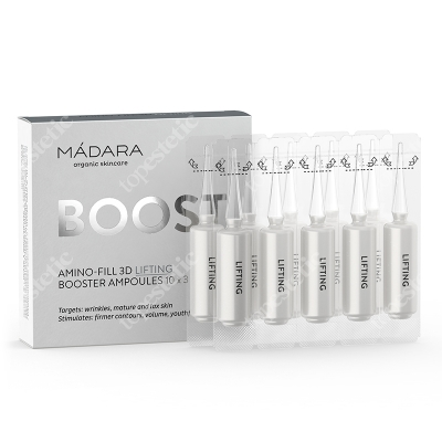 Madara Amino Fill 3d Lifting Booster Ampułki liftingujące 10x3 ml